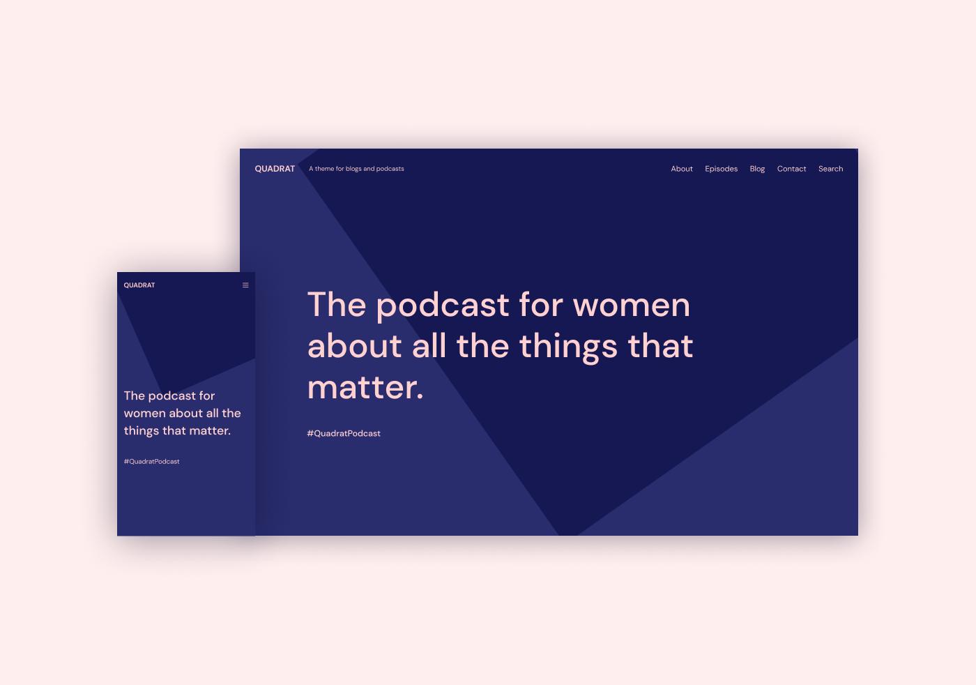 Quadrat — WordPress Theme